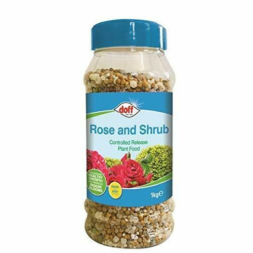 Doff CRF Rose and Shrub Controlled Release Fertiliser 1kg