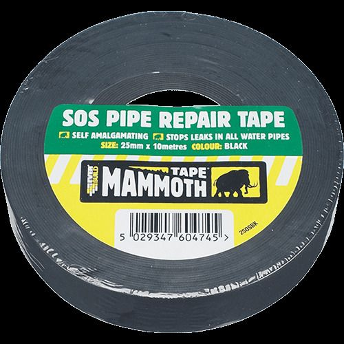 Everbuild SOS Pipe Repair Tape 25mm x 10 metres Self Amalgamating
