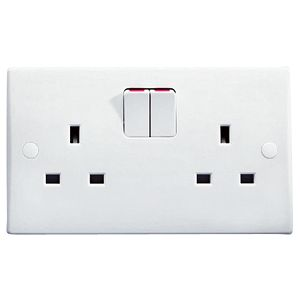 White Wiring Accessories
